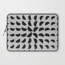 Half Moon Pattern Laptop Sleeve