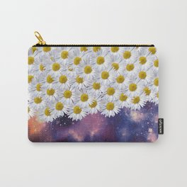 Daisys in Space Carry-All Pouch