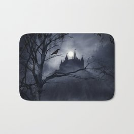 Gothic Night Fantasy Bath Mat