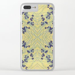 Smoke Tree Blooming Clear iPhone Case