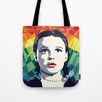 dorothy Tote Bags featuring Dorothy by Stephanie Keir