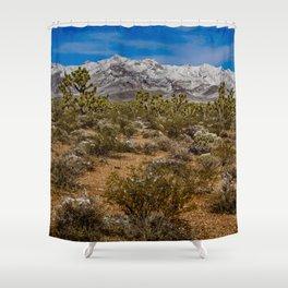 Desert Snow 4947 Shower Curtain