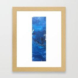 Falling Into It Framed Art Print