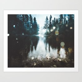 Dreaming of PNW Art Print