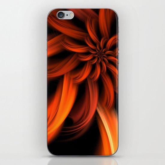The Red Dahlia iPhone & iPod Skin