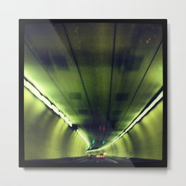 Tunnel Series- 1 Metal Print