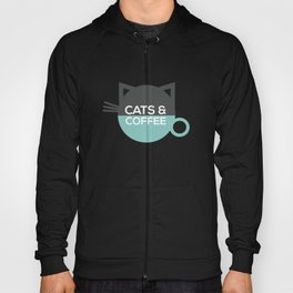 Cats and coffee Hoody