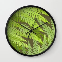 Forever Green D. B. Wall Clock