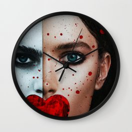 Nevertheless She Persisted - Women's Rights Art - Sharon Cummings Wall Clock