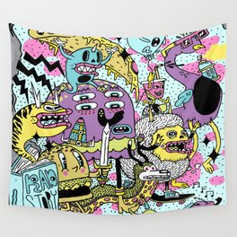 The Adventures of Rad Story Wall Tapestry