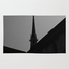 Black Church Rug