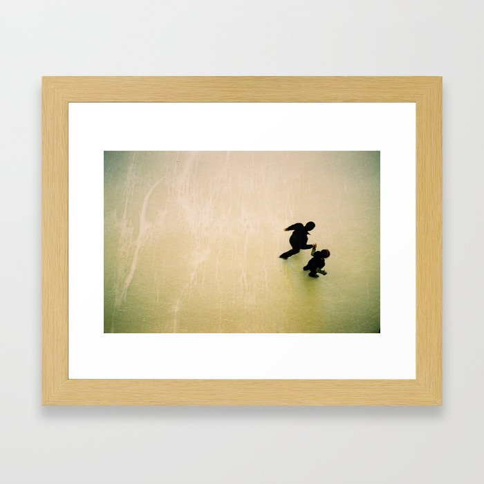 dance for two  Framed Art Print