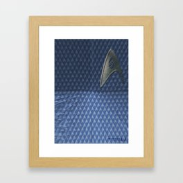 Energize - Blue Shirt Framed Art Print
