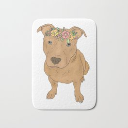 Colourful Pit Bulls, Pit Bulls Gift Bath Mat