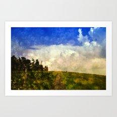 Cloudland Art Print