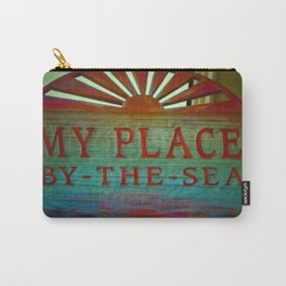 My Place By The Sea Carry-All Pouch