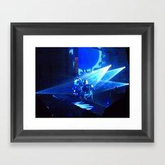Live In Concert: RED Framed Art Print