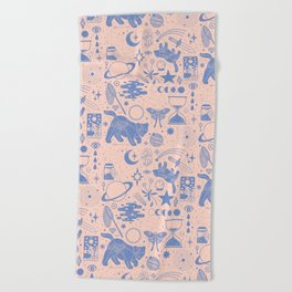 Collecting the Stars Beach Towel