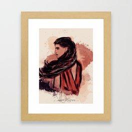 Be an Elf, it's my dream. Framed Art Print