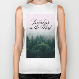 Travelers in the Mist Biker Tank