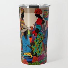 African market 3 Travel Mug