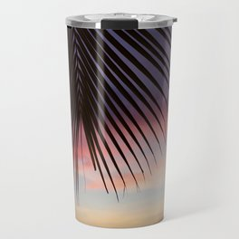 Paradise Palm Sunset Travel Mug
