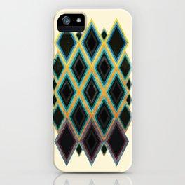 Diamond pattern iPhone Case