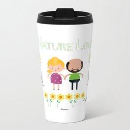Nature Love Metal Travel Mug