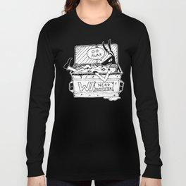 NERD DUMPSTER - HECKHOUNDS #007 Long Sleeve T-shirt
