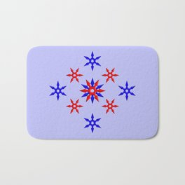 Shuriken Design version 3 Bath Mat
