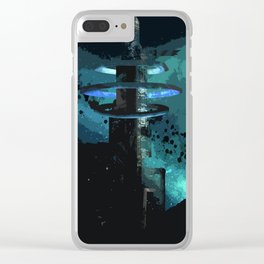 A Land Beyond Clear iPhone Case