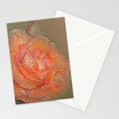 rose frome the garden Stationery Cards