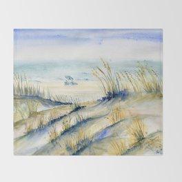 Ocean City Beach Maryland Throw Blanket