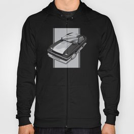86 L-Body Charger Black Hoody