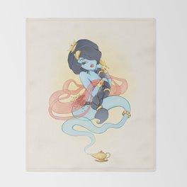 Genie Princess Throw Blanket