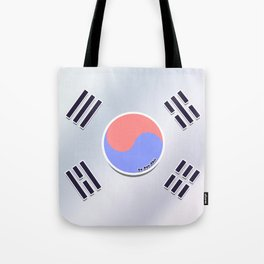 Korean Flag Tote Bag