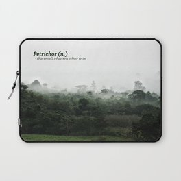 Petrichor (Smell of earth after rain) Laptop Sleeve