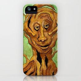 Tree Golem iPhone Case