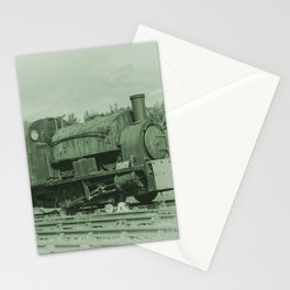 Rusting Tanks Stationery Cards