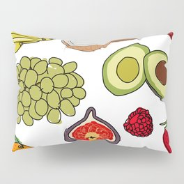 Fruits Pillow Sham