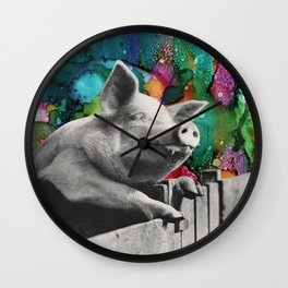 Happy to be Wall Clock