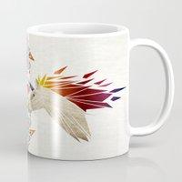 unicorn Mugs featuring unicorn by Manoou