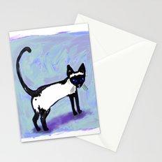Cat Tocks Stationery Cards