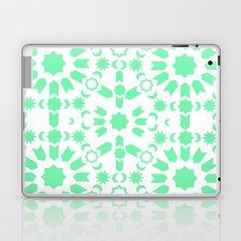 Mint Arabesque Laptop & iPad Skin
