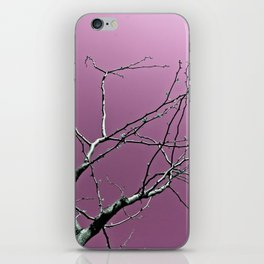 Reaching Violet iPhone Skin