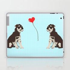 Miniature Schnauzer Dog Art Laptop & iPad Skin
