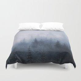 Misty fantasy forest. Duvet Cover
