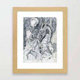 Dragon Fire Framed Art Print