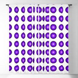 Bullseye -- Indigo Blackout Curtain