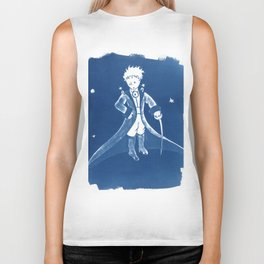 Little Prince Cyanotype Biker Tank